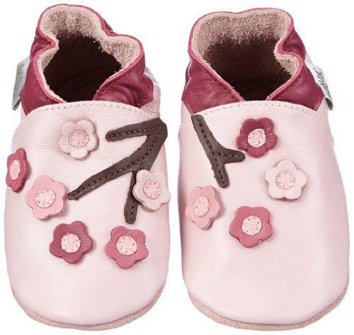 Chaussures Bebe Bobux Chausson Cuir Souple B/éb/é Pantoufle Bebe Red Dolie
