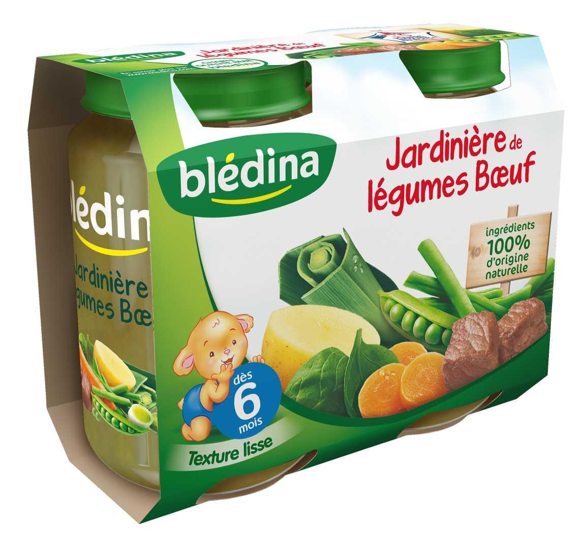 Pot Jardinière de légumes Bœuf 2x200g