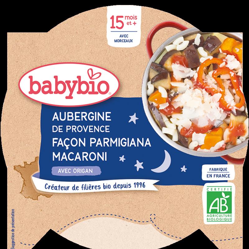 Bonne Nuit Aubergines de Provence façon Parmigiana Macaroni Origan