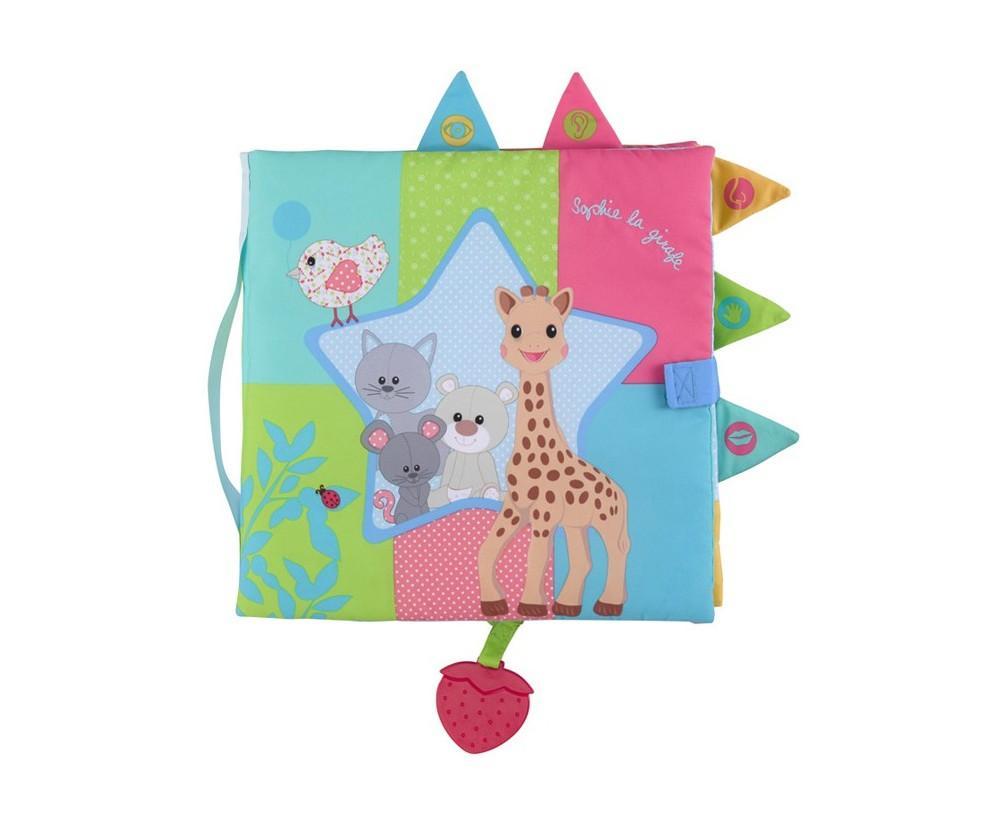 Livre d'éveil Sensitive book Sophie la girafe