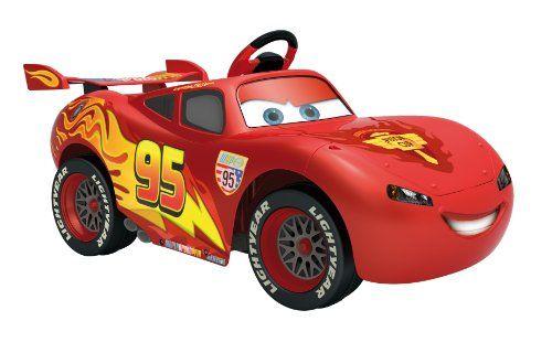 Voiture électrique Cars 2 - Flash Mc Queen FEBER