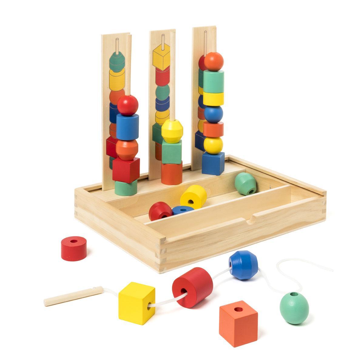 Jeux de perles en bois