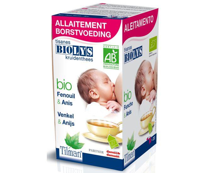 Tisane biologique d'allaitement fenouil - anis