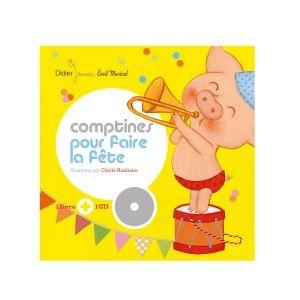 Livre-CD Comptines pour faire la fête