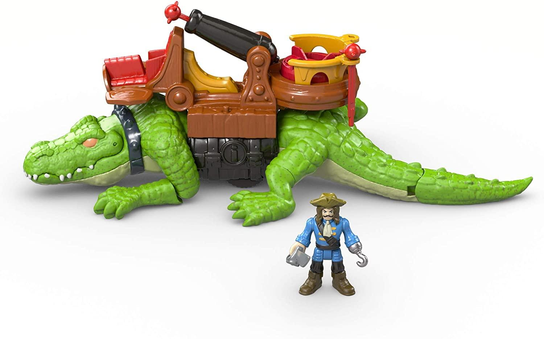 Figurine crocodile et pirate Hook Imaginext