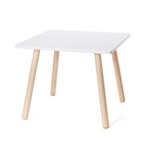 Table carrée naturel
