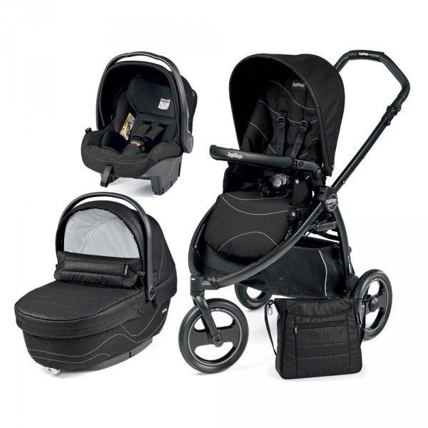 Pack poussette trio 3 roues Scout