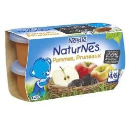 Naturnes - Compote Pommes Pruneaux