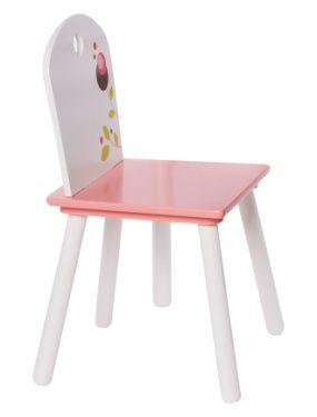 Mobilier Chaise motif fleurs