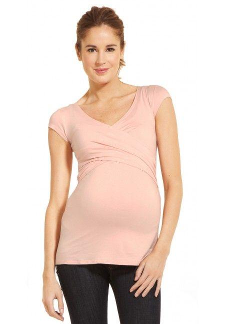 Haut de grossesse et d'allaitement Fiona