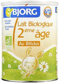 Lait biologique au bifidus 2è âge