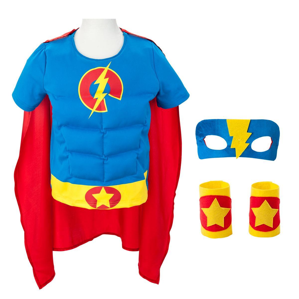 Déguisement super boy héros