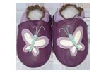 Chaussons bébé cuir Papillon CIE'KID