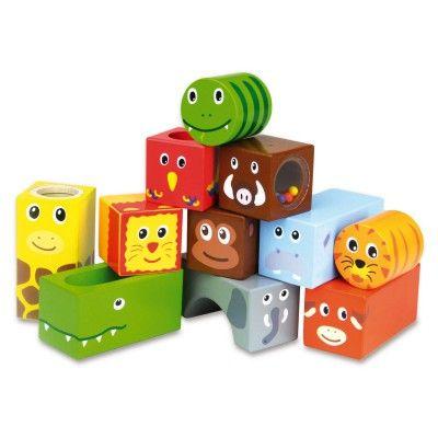 Cubes sonores Animaux de la jungle