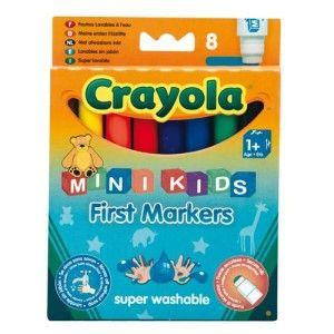 8 feutres mini kids Crayola