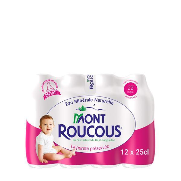 Eau Minérale Mont ROUCOUS 12 x25 cL MONT ROUCOUS
