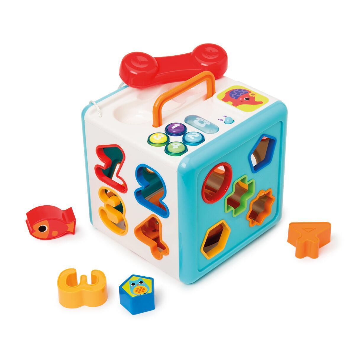 Cube sonore et lumineux