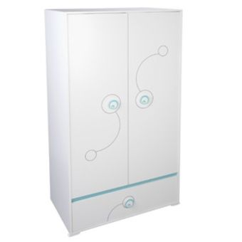 Armoire 2 portes -1 tiroir