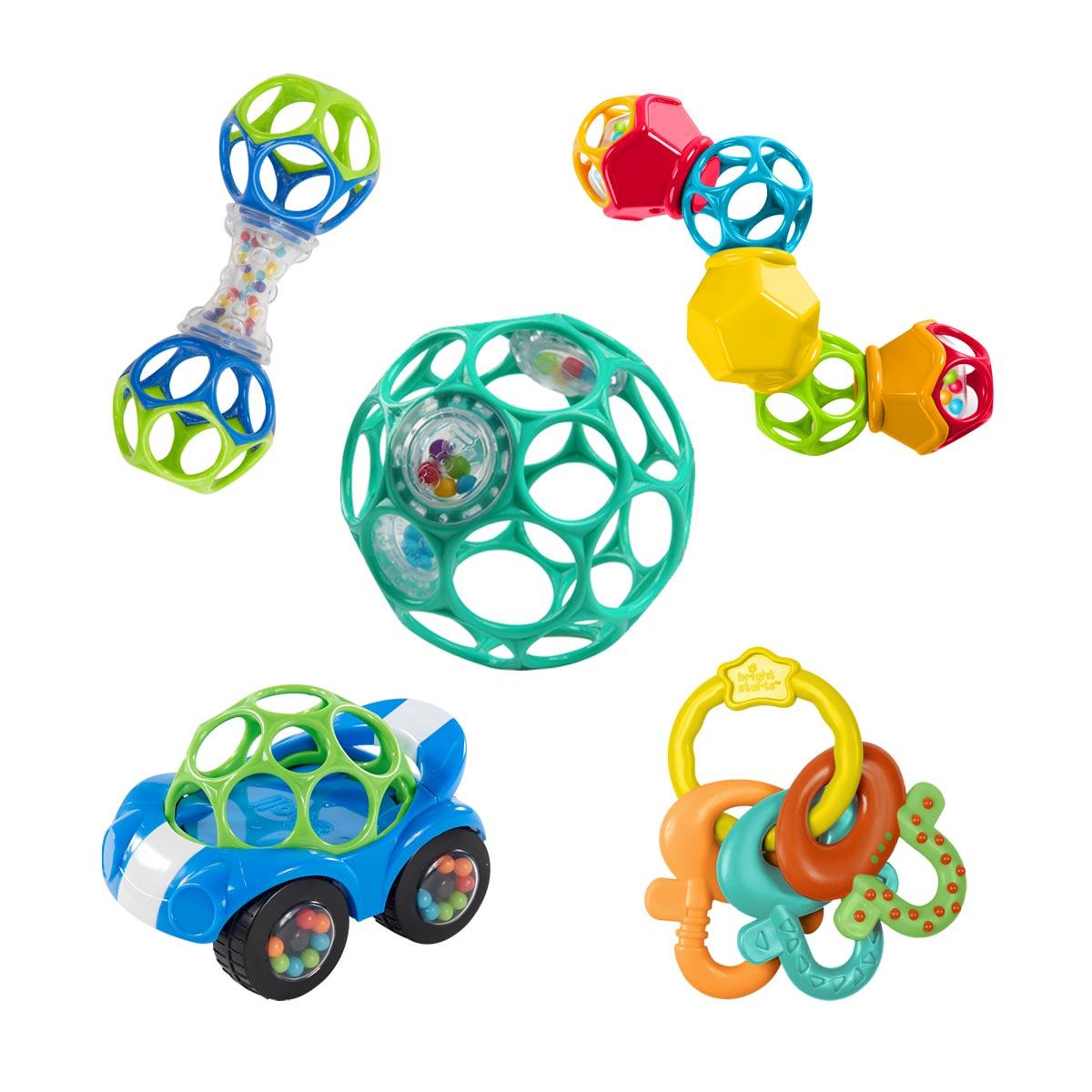Coffret de 5 jouets d'éveil