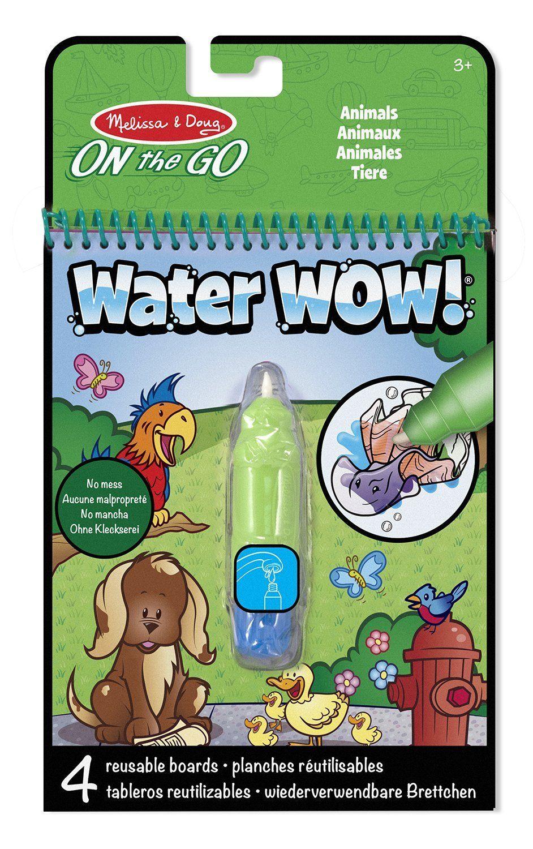 Planches de dessin à l'eau Water WOW