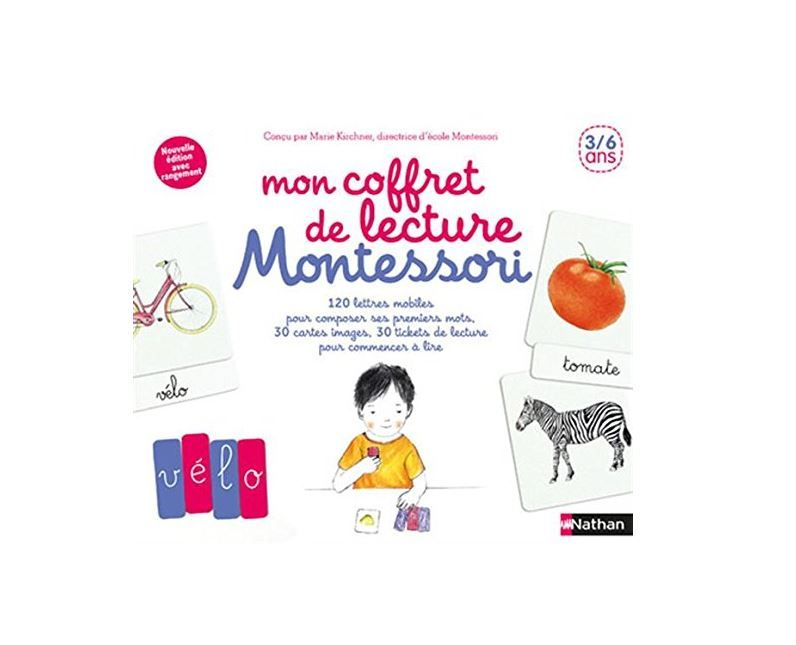 Mon coffret de lecture Montessori