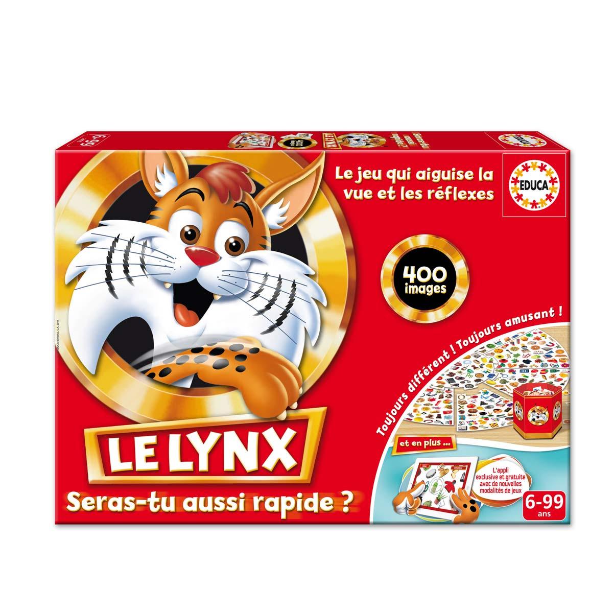 Jeu de société Lynx 400 images et applis pour tablette