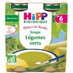 Soupe aux légumes verts 20 cl dès 6 mois HIPP