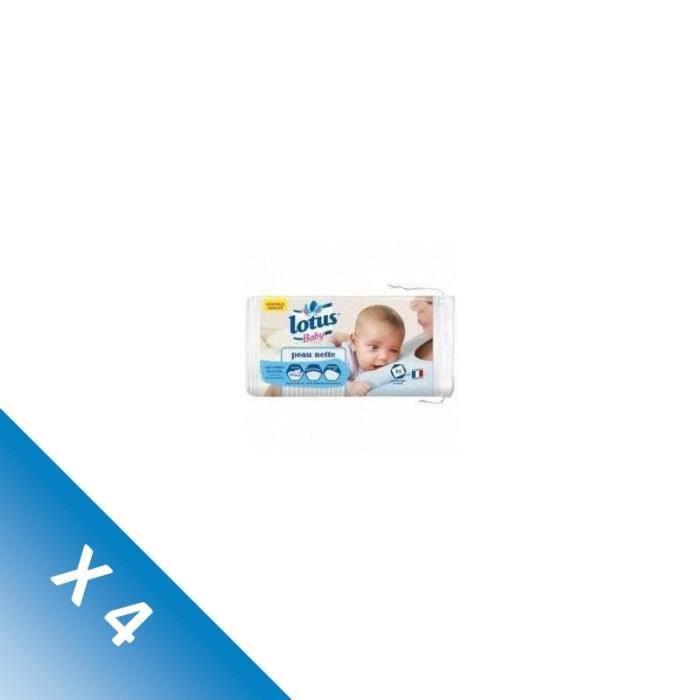 Lingettes bébé peau nette