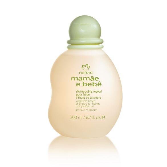 Shampoing végétal Mamãe e Bebê