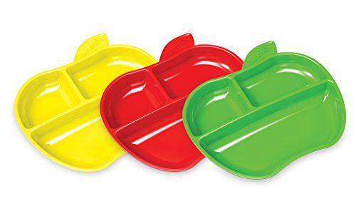 Assiettes Petite Pomme x3