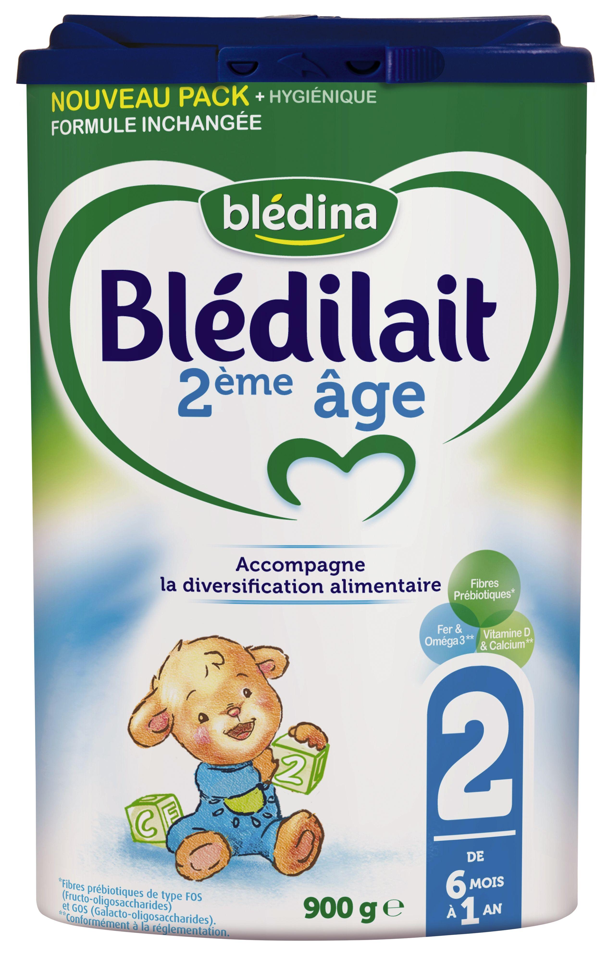 Lait Blédilait 2ème âge 900g BLEDINA