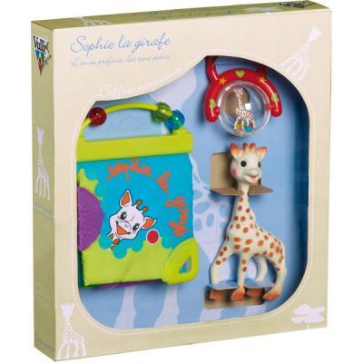 Coffret naissance jouets d'éveil Sophie la girafe