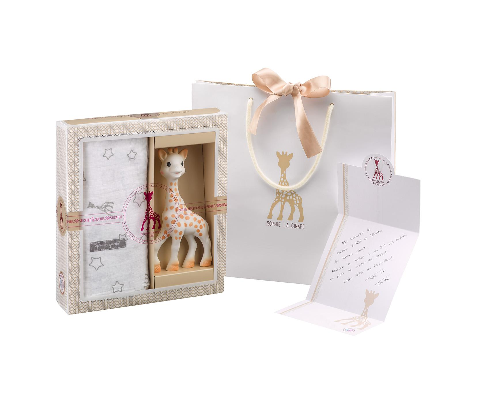 Coffret Sophiesticated - Sophie la girafe + Lange