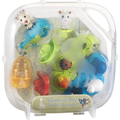 Valisette jouets de bain Sophie la girafe VULLI