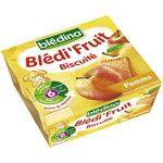 BLEDI FRUIT Biscuite pomme 4x100 g dès 6 mois BLEDINA