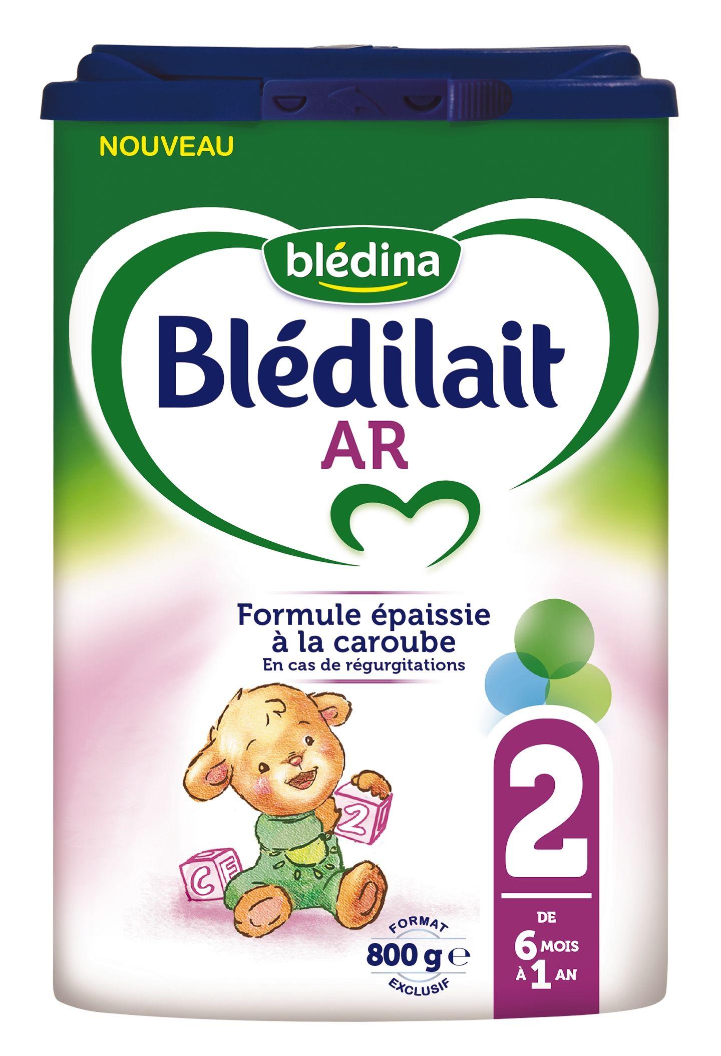 Lait Blédilait AR 2ème âge