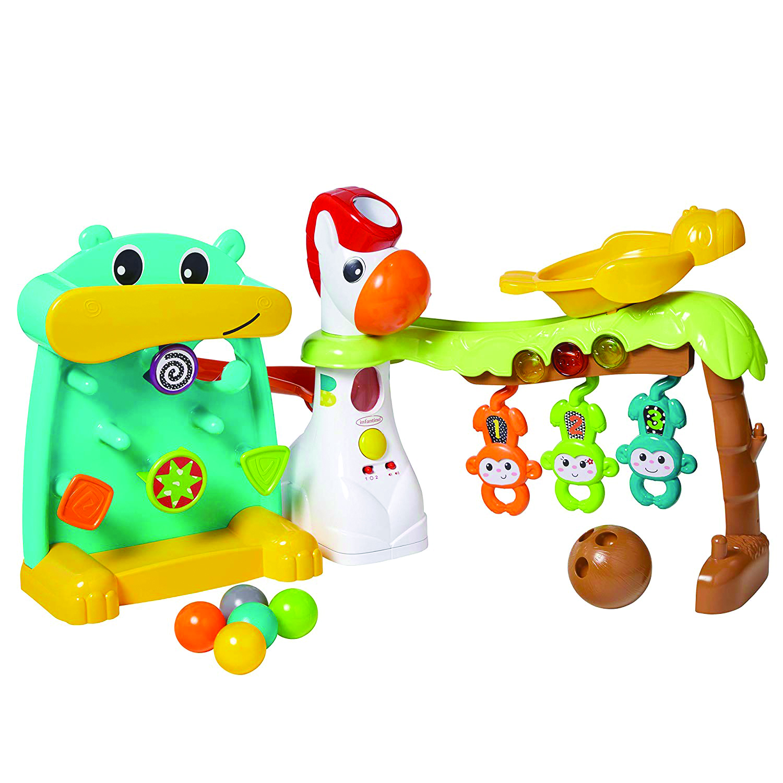 Aire de jeux multi-activités Playland INFANTINO BKIDS