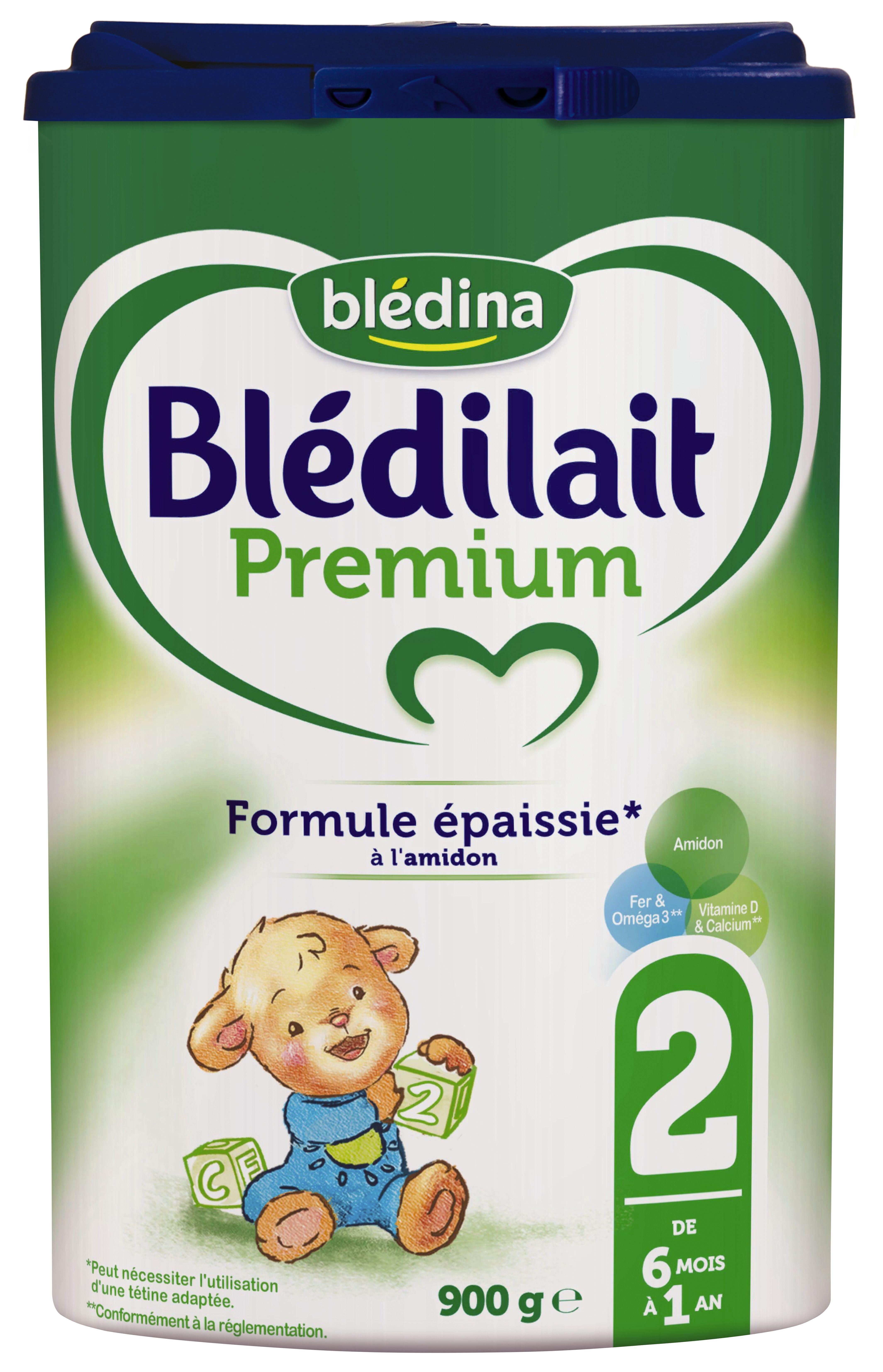 Lait Blédilait 2ème âge Premium poudre