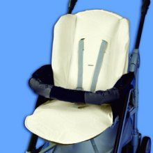 Housse protection poussette anti-transpiration