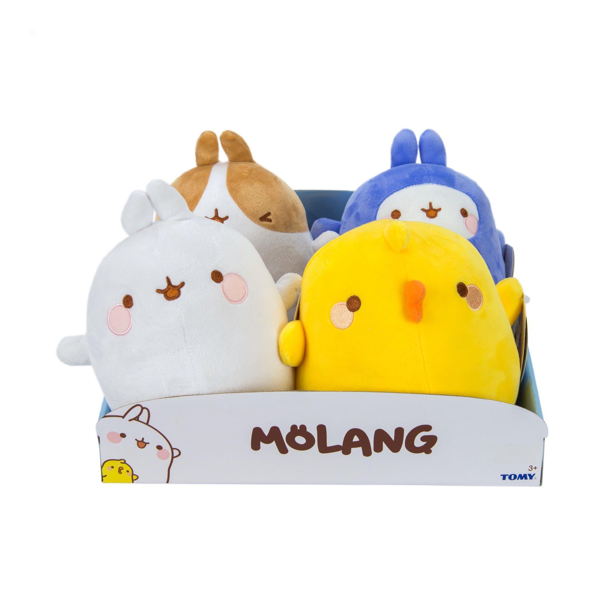Peluches Molang et ses amis