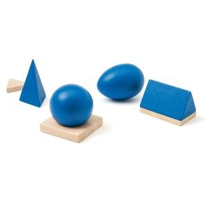 Solides géométriques Ateliers Montessori OXYBUL