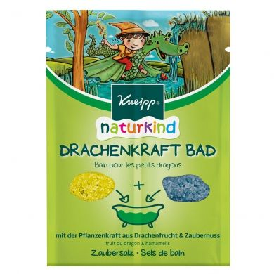 Sels de bain pour petits dragons - Naturkind  KNEIPP
