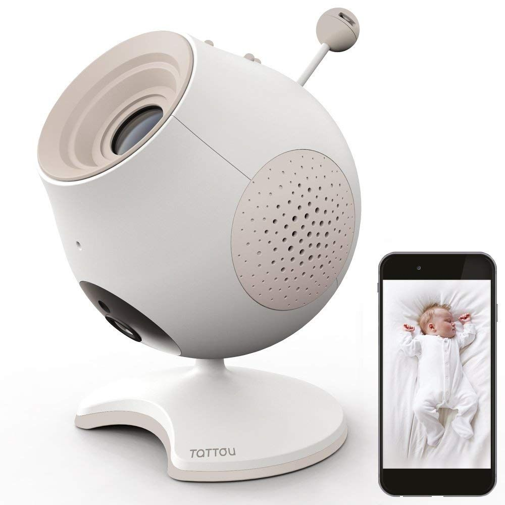 Babyphone caméra projecteur Pio
