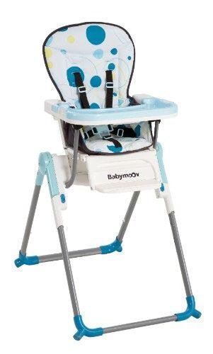 Chaise haute compacte Slim   BABYMOOV