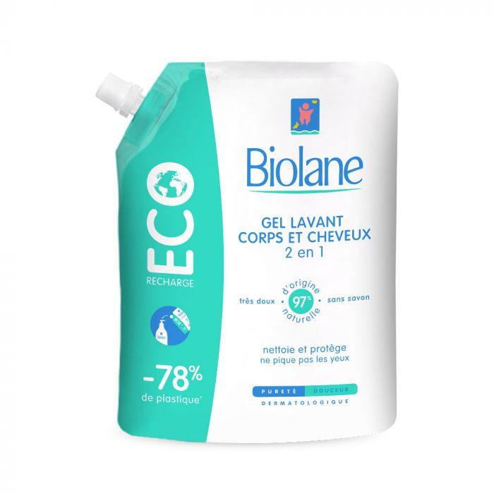 Ecorecharge Gel lavant corps et cheveux Bio