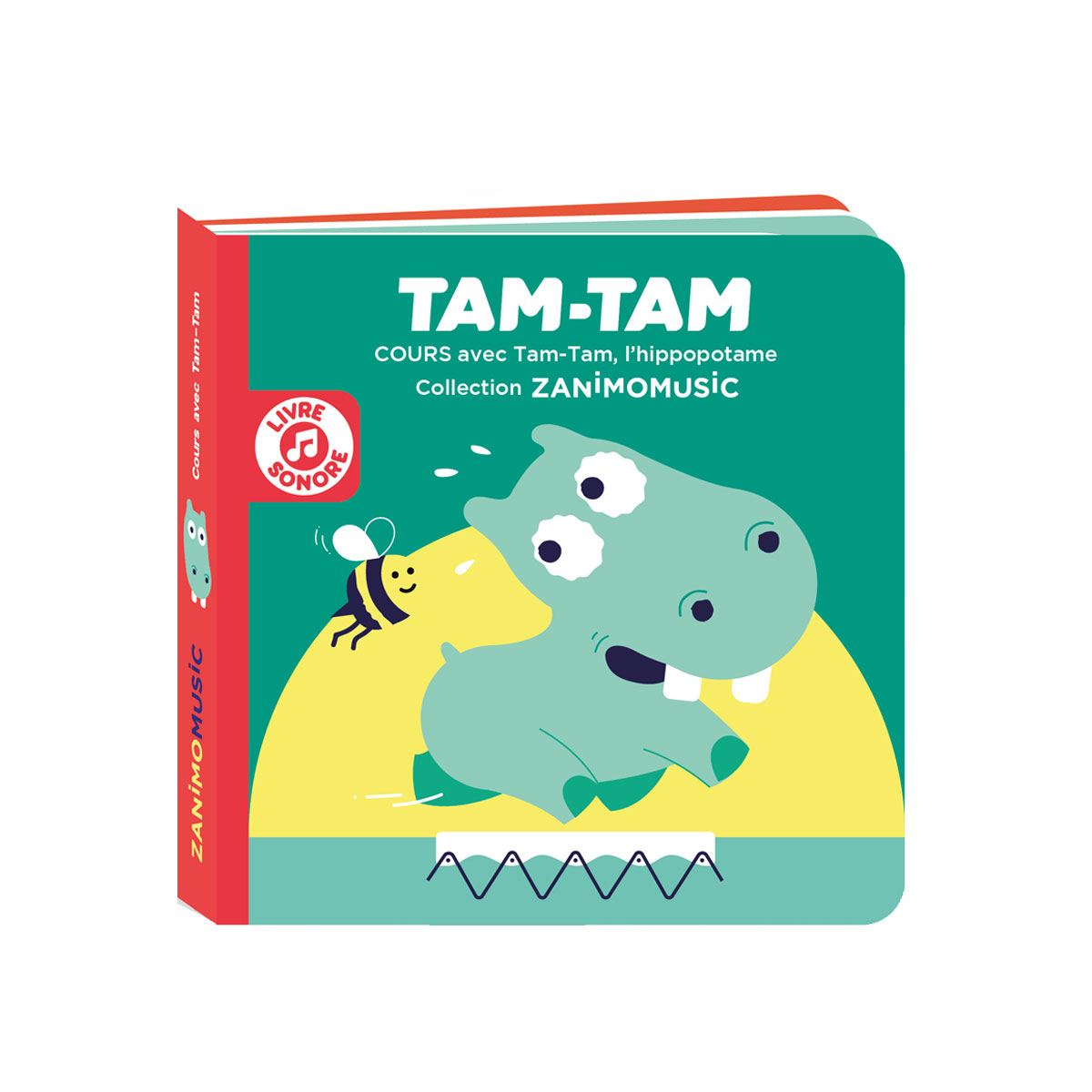 Cours avec Tam-Tam, l'hippopotame