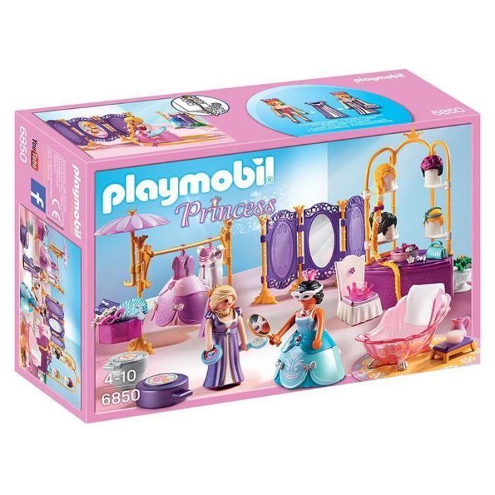 Salon de beauté avec princesses PLAYMOBIL