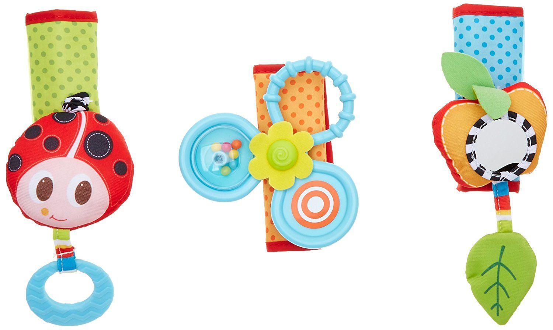 Trio de jouets à suspendre