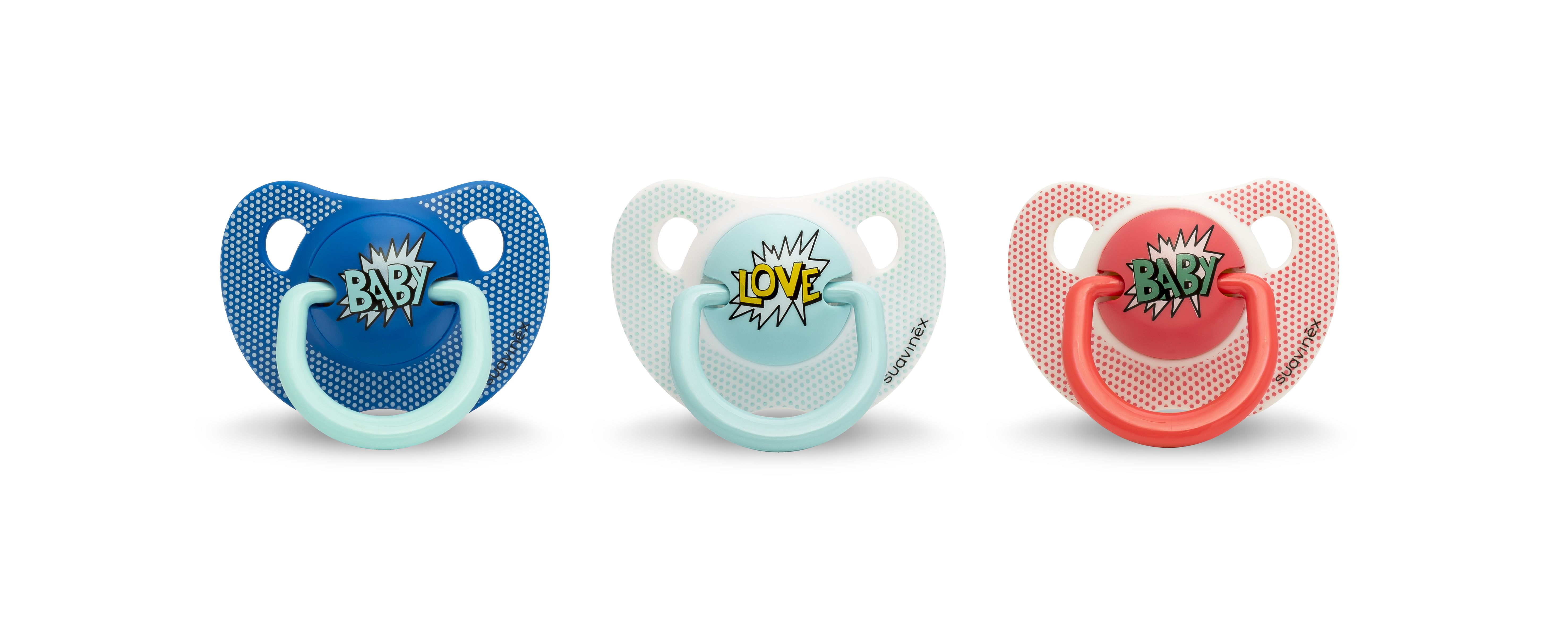 Arty Baby - Sucette silicone physio 0/6 mois SUAVINEX