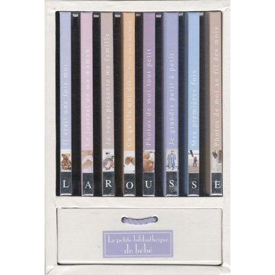 La petite bibliothèque de bébé : coffret 8 volumes